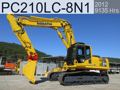 Used Construction Machine used  PC210LC-8N1 #353379, 2012Year 9135Hours