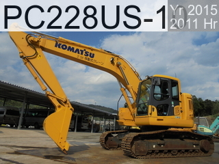 Used Construction Machine used  PC228US-10 #1876, 2015Year 2011Hours