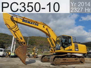 Used Construction Machine used  PC350-10 #70833, 2014Year 2327Hours