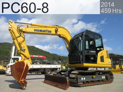 Used Construction Machine used  PC60-8 #10287, 2014Year 453Hours