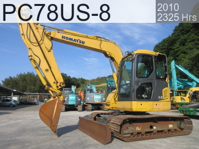 Used Construction Machine used  PC78US-8 #16164, 2010Year 2325Hours
