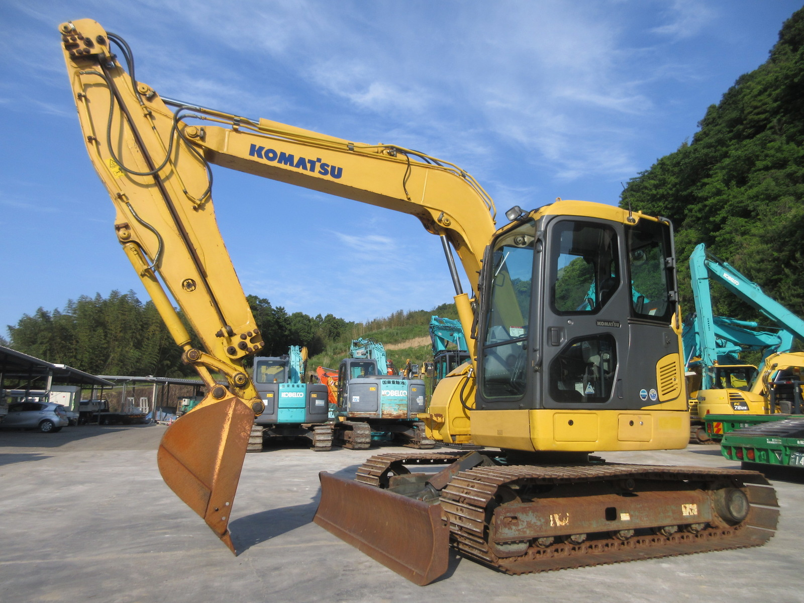 Used Construction Machine used  KOMATSU PC78US-8 Photos