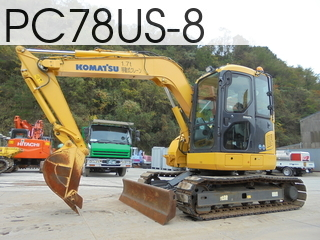 Used Construction Machine used  PC78US-8 #21728, 2014Year 1232Hours