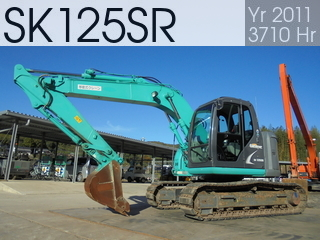 Used Construction Machine used  SK125SR #5997, 2011Year 3710Hours