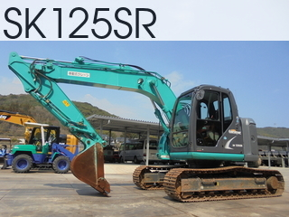 Used Construction Machine used  SK125SR #7337, 2013Year 2590Hours
