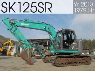 Used Construction Machine used  SK125SR #YV06-07462, 2013Year 1979Hours