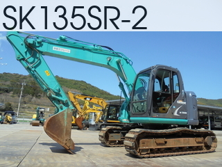 Used Construction Machine used  SK135SR-2 #YY06-16468, 2011Year 4071Hours