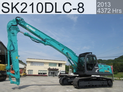 Used Construction Machine used  SK210DLC-8 #YQ12-09150, 2013Year 4372Hours