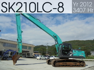 Used Construction Machine used  SK210LC-8 #YQ12-08832, 2012Year 3407Hours