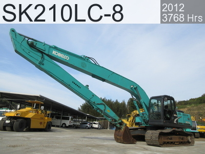 Used Construction Machine used  SK210LC-8 #YQ12-08832, 2012Year 3768Hours