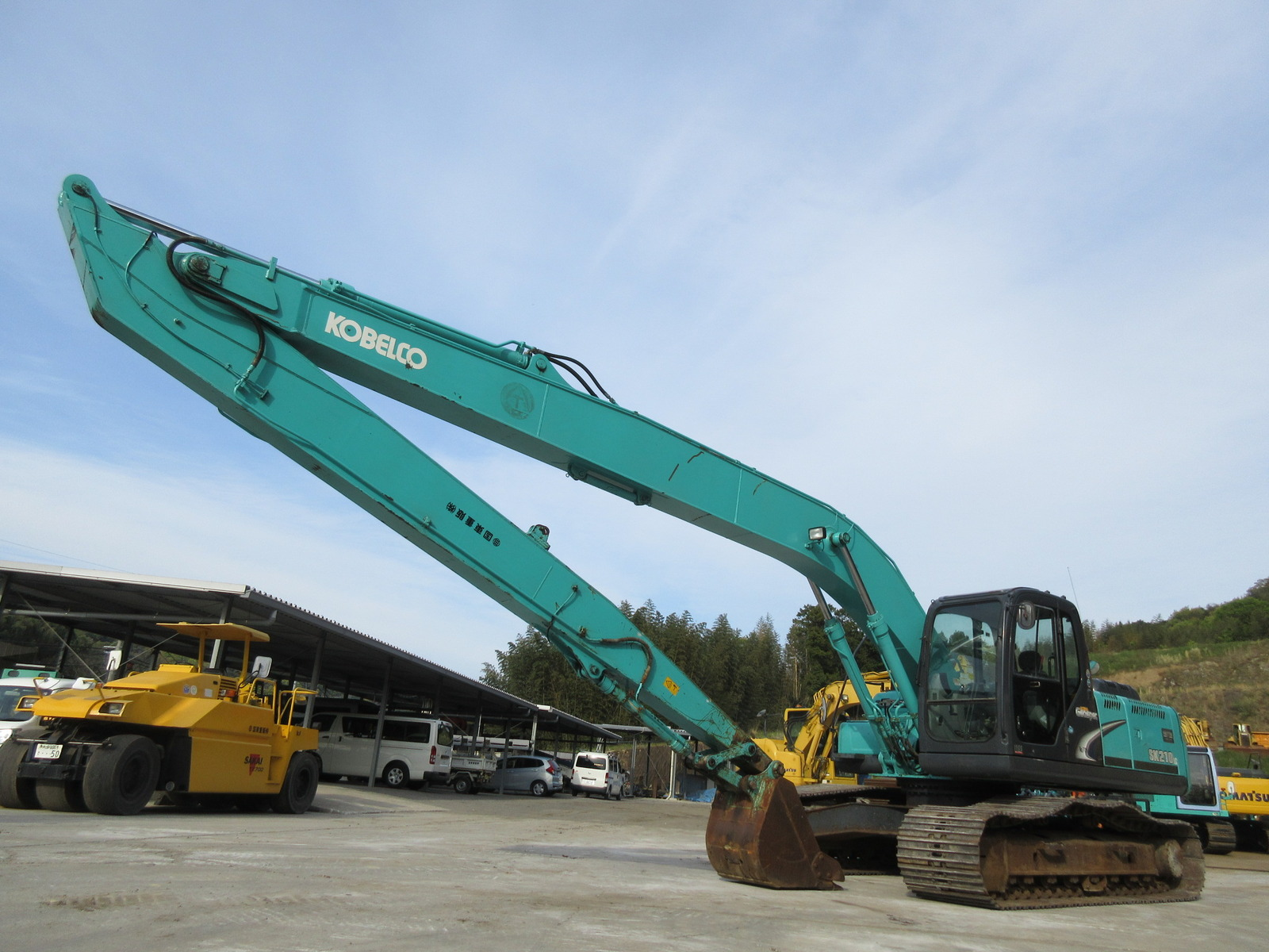 Used Construction Machine used  KOBELCO SK210LC-8 Photos