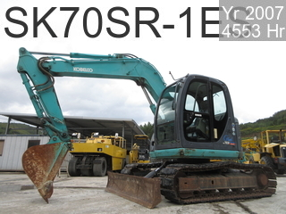 Used Construction Machine used  SK70SR-1ES #YT04-11448, 2007Year 4553Hours