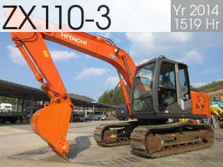 Used Construction Machine used  ZX110-3 #20846, 2014Year 1519Hours