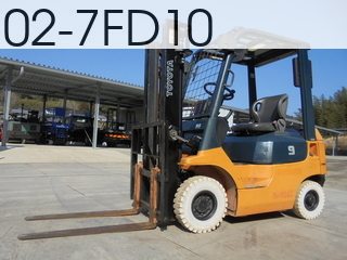 Used Construction Machine used  02-7FD10 #7FD18-24163, 2005Year 1409Hours