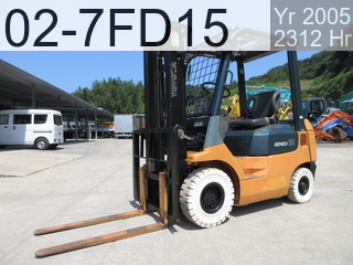 Used Construction Machine used  02-7FD15 #25409, 2005Year 2309Hours