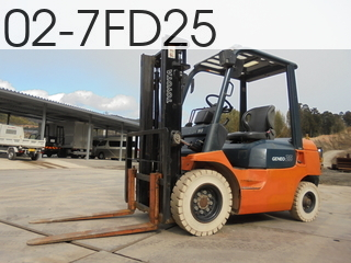 Used Construction Machine used  02-7FD25 #7FD25-38509, 2005Year 3117Hours