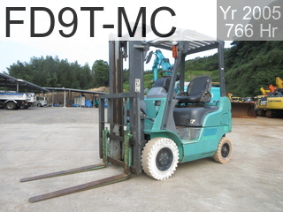 Used Construction Machine used  FD9T-MC #F16D-90048, 2005Year 766Hours