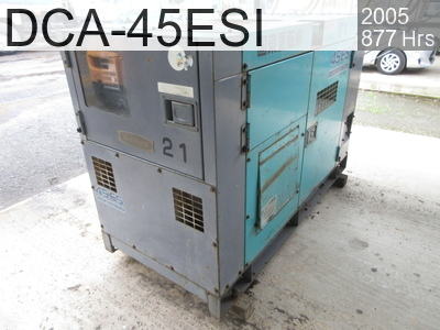 Used Construction Machine used  DCA-45ESI #3770645, 2005Year 877Hours