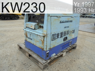 Used Construction Machine used  KW230 #4771129, 1997Year 1993Hours
