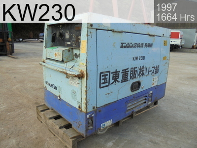 Used Construction Machine used  KW230 #4773152, 1997Year 1664Hours