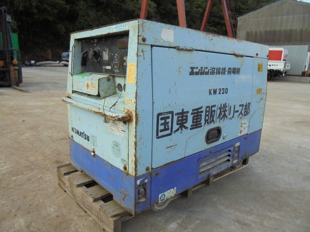 Used Construction Machine used Generator KOMATSU KW230 Photos