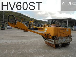 Used Construction Machine used  HV60ST #VHV12-42622, 2003Year -Hours