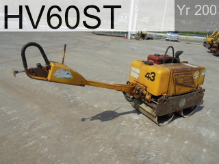 Used Construction Machine used  HV60ST #VHV12-42625, 2003Year -Hours