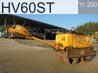 Used Construction Machine used  HV60ST #VHV12-42627, 2003Year -Hours