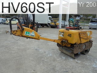 Used Construction Machine used  HV60ST #VHV12-42628, 2003Year -Hours