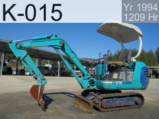 Used Construction Machine used  K-015 #10435, 1994Year 1209Hours