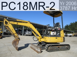 Used Construction Machine used  PC18MR-2 #16285, 2006Year 3787Hours