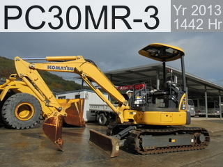Used Construction Machine used  PC30MR-3 #35951, 2013Year 1442Hours