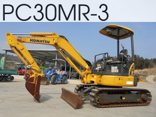 Used Construction Machine used  PC30MR-3 #35960, 2013Year 836Hours
