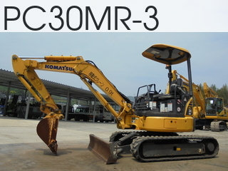 Used Construction Machine used  PC30MR-3 #38033, 2013Year 495Hours