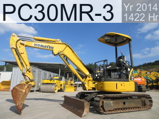 Used Construction Machine used  PC30MR-3 #38995, 2014Year 1417Hours