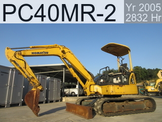 Used Construction Machine used  PC40MR-2 #9032, 2004Year 2832Hours
