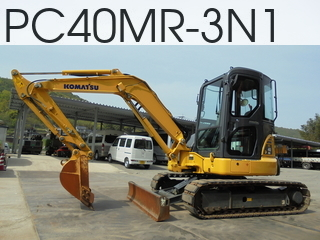 Used Construction Machine used  PC40MR-3N1 #21693, 2014Year 1300Hours
