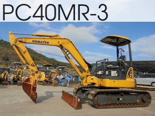 Used Construction Machine used  PC40MR-3 #21513, 2013Year 1601Hours