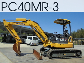 Used Construction Machine used  PC40MR-3 #21523, 2013Year 1270Hours