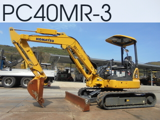 Used Construction Machine used  PC40MR-3 #22307, 2014Year 646Hours