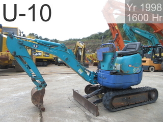 Used Construction Machine used  U-10 #12211, 1998Year 1599Hours