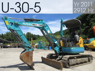 Used Construction Machine used  U-30-5 #72989, 2011Year 2912Hours