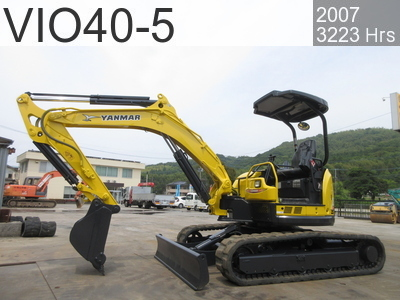 Used Construction Machine used  VIO40-5 #52024B, 2007Year 3223Hours