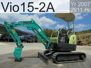 Used Construction Machine used  Vio15-2A #28971B, 2007Year 2911Hours