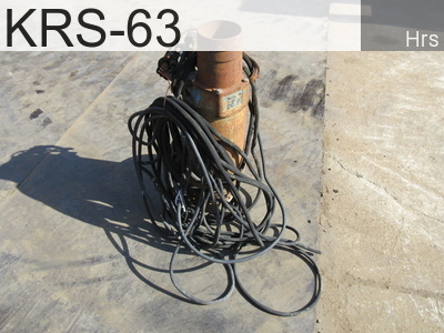 Used Construction Machine used  KRS-63 #601050, -Year -Hours