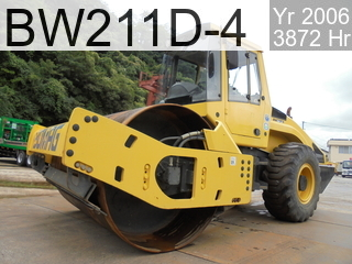 Used Construction Machine used  BW211D-4 #1324, 2006Year 3872Hours