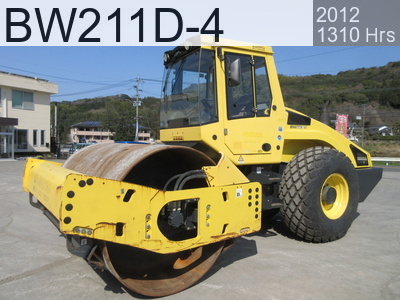 Used Construction Machine used  BW211D-4 #91718, 2012Year 1308Hours