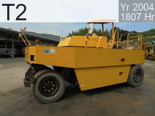 Used Construction Machine used  T2 #43184, 2004Year 1807Hours