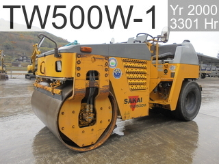 Used Construction Machine used  TW500W-1 #20652, 2000Year 3301Hours