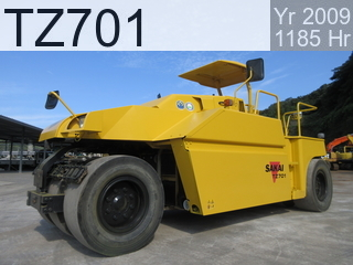 Used Construction Machine used  TZ701 #20845, 2009Year 1182Hours